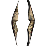 "SAS Gravity 60"" Premier Hunting 1-Piece Recurve Bow Wooden 35lbs RH - Open Box"