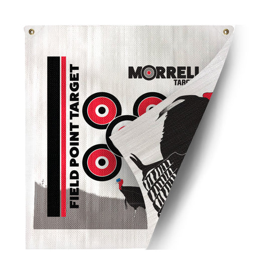 Morrell NWTF Two Sided Polypropylene Target Face - Field Point Only