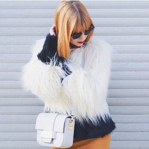 Shaniah Faux Fur Coat
