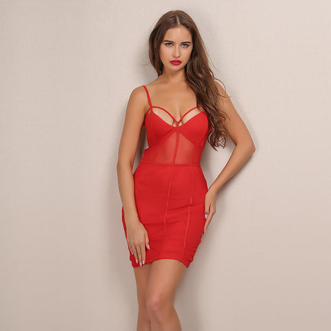 On Fire Party Dress