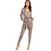 Selena Satin Jumpsuit