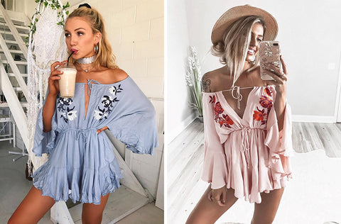 Coachella Days Romper
