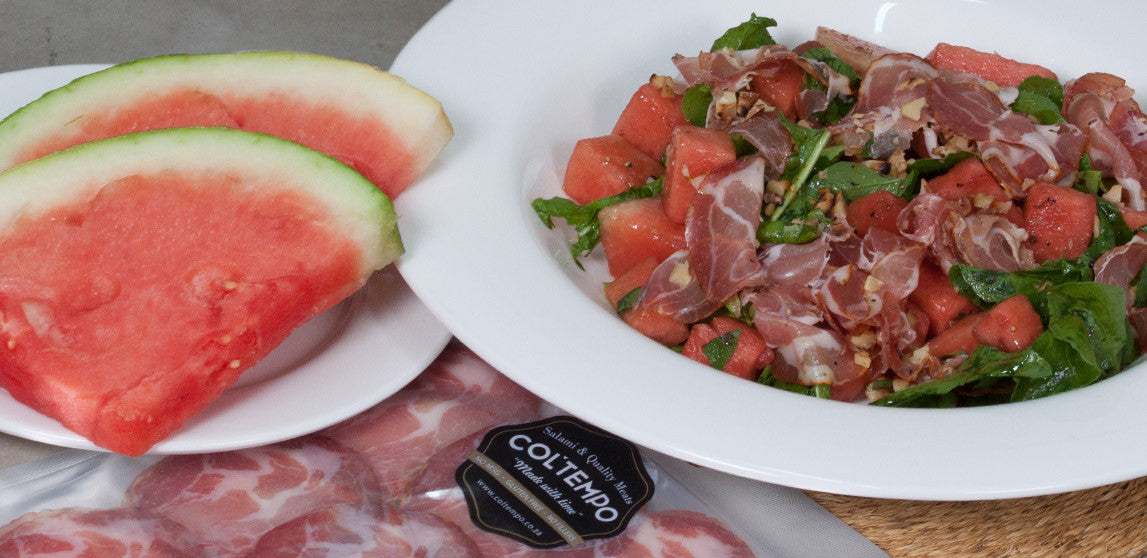 Coppa & Watermelon Salad