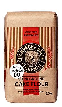 Champagne Valley Stoneground 00 Cake flour 2.5kg