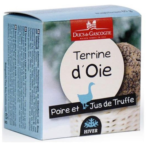 Goose terrine, pear and truffle juice 65g - Ducs de Gascogne