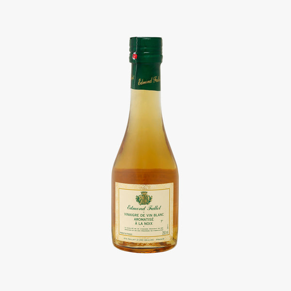 Edmond Fallot White Wine Vinegar with Walnut  250ml