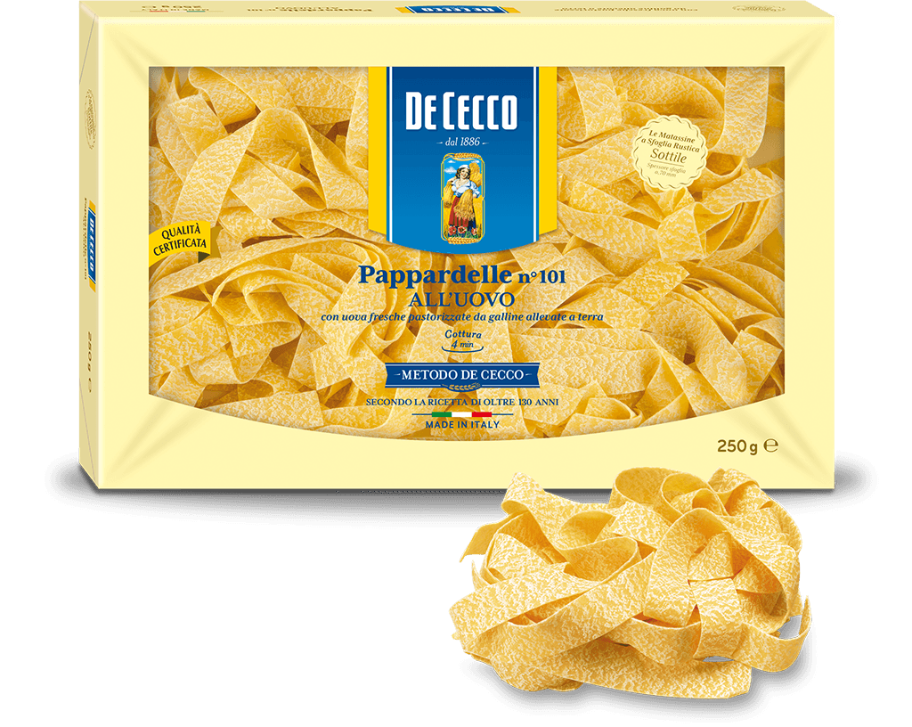 DW CECCO Pappardelle Egg Pasta n101 250g