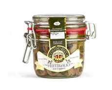 Agostino Recca Fillets of Anchovies with Capers 230g