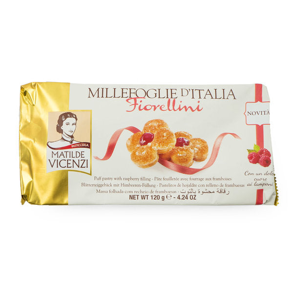 Puff Pastry with Raspberry Filling 120g Matilde Vicenzi