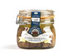 Agostino Recca Fillets of Anchovies in Olive Oil 540g