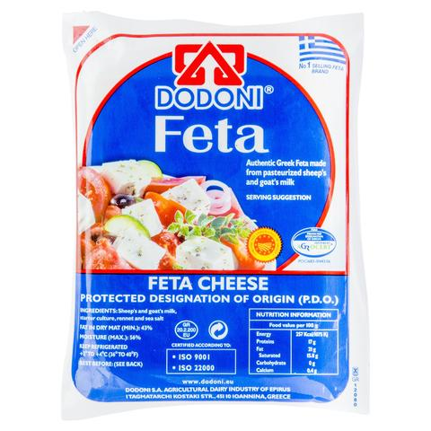 Dodoni Sheeps and Goats Milk Feta Cheese 400g