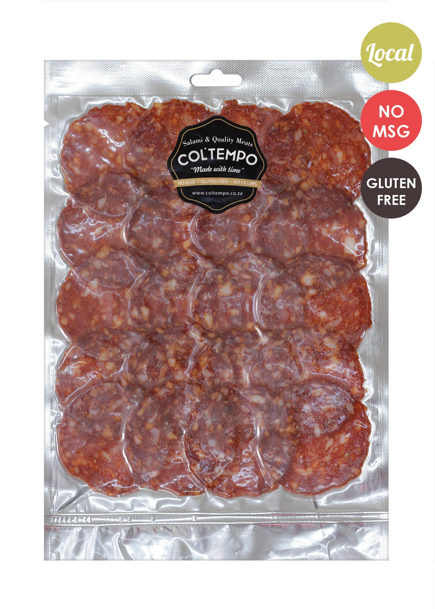 Spicy Soppressata Pre-sliced 90g