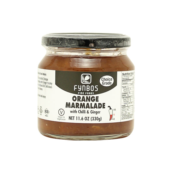 Fynbos Orange Marmalade Chilli/Ginger Jam 330g