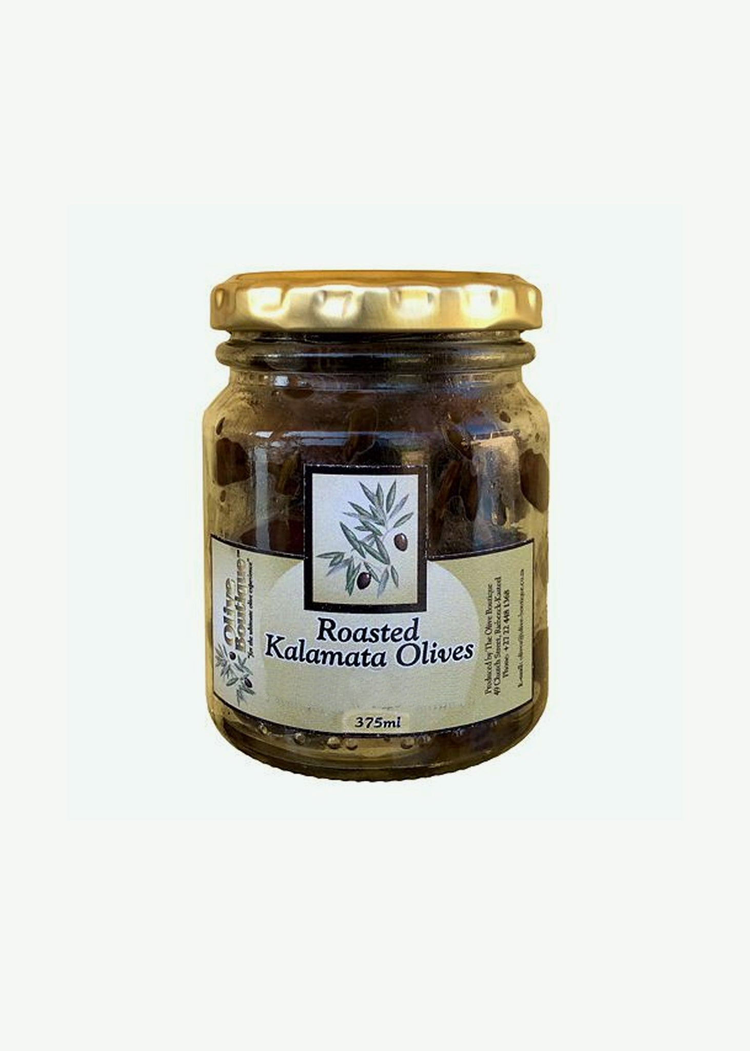 Kalamata Olives Roasted with Chilli 375ml