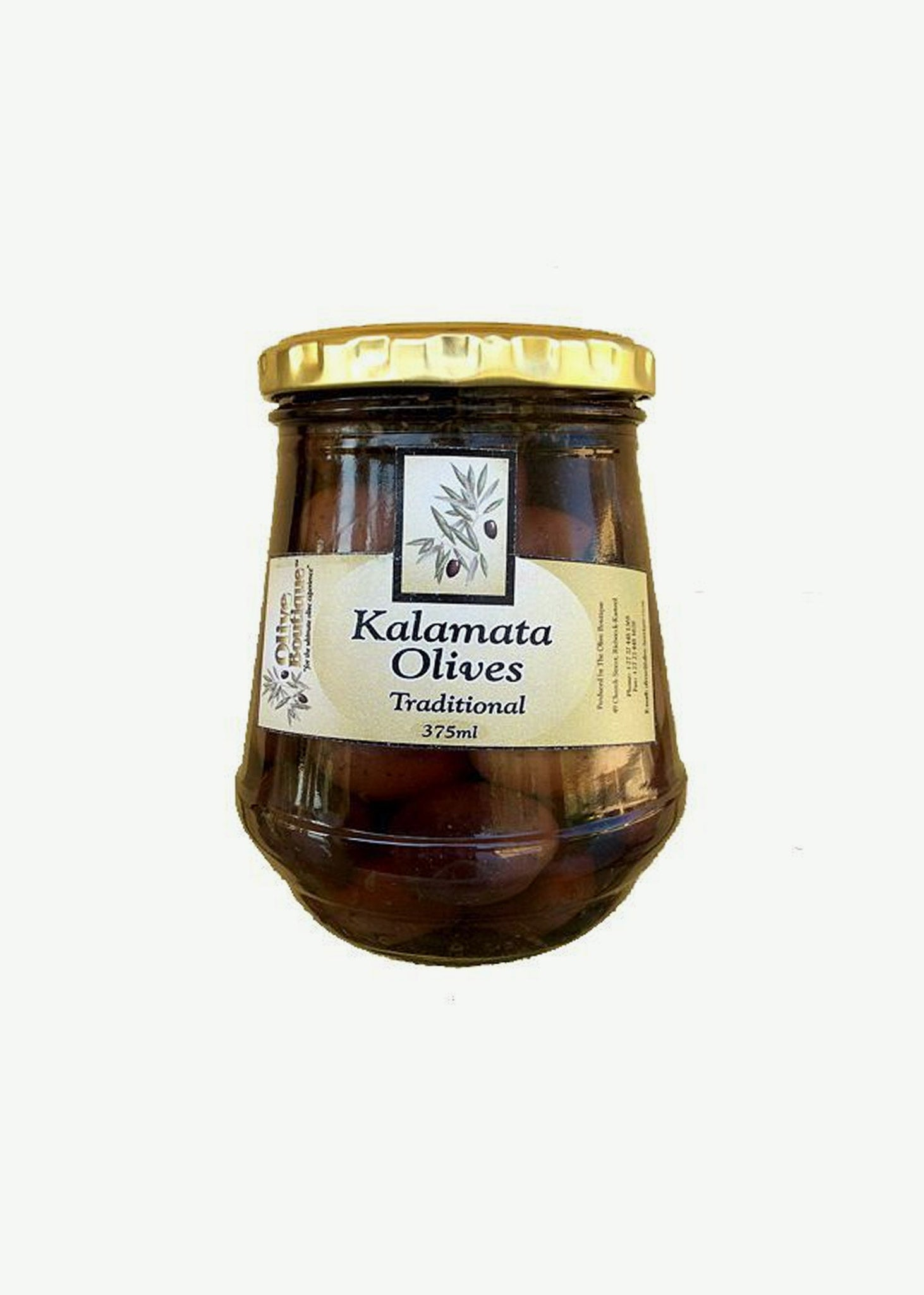 Kalamata Olives in the Traditional Style 375ml