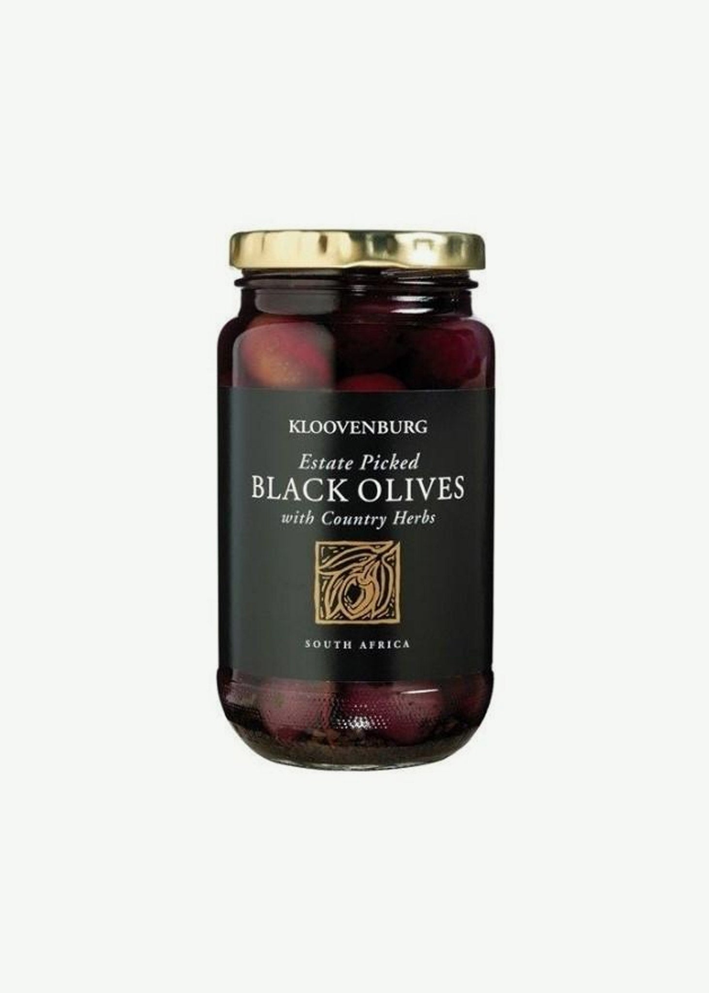 Kloovenburg Black Olives with Country Herbs      425g