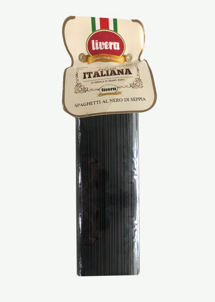 Livera Black Squid Ink Pasta 500G