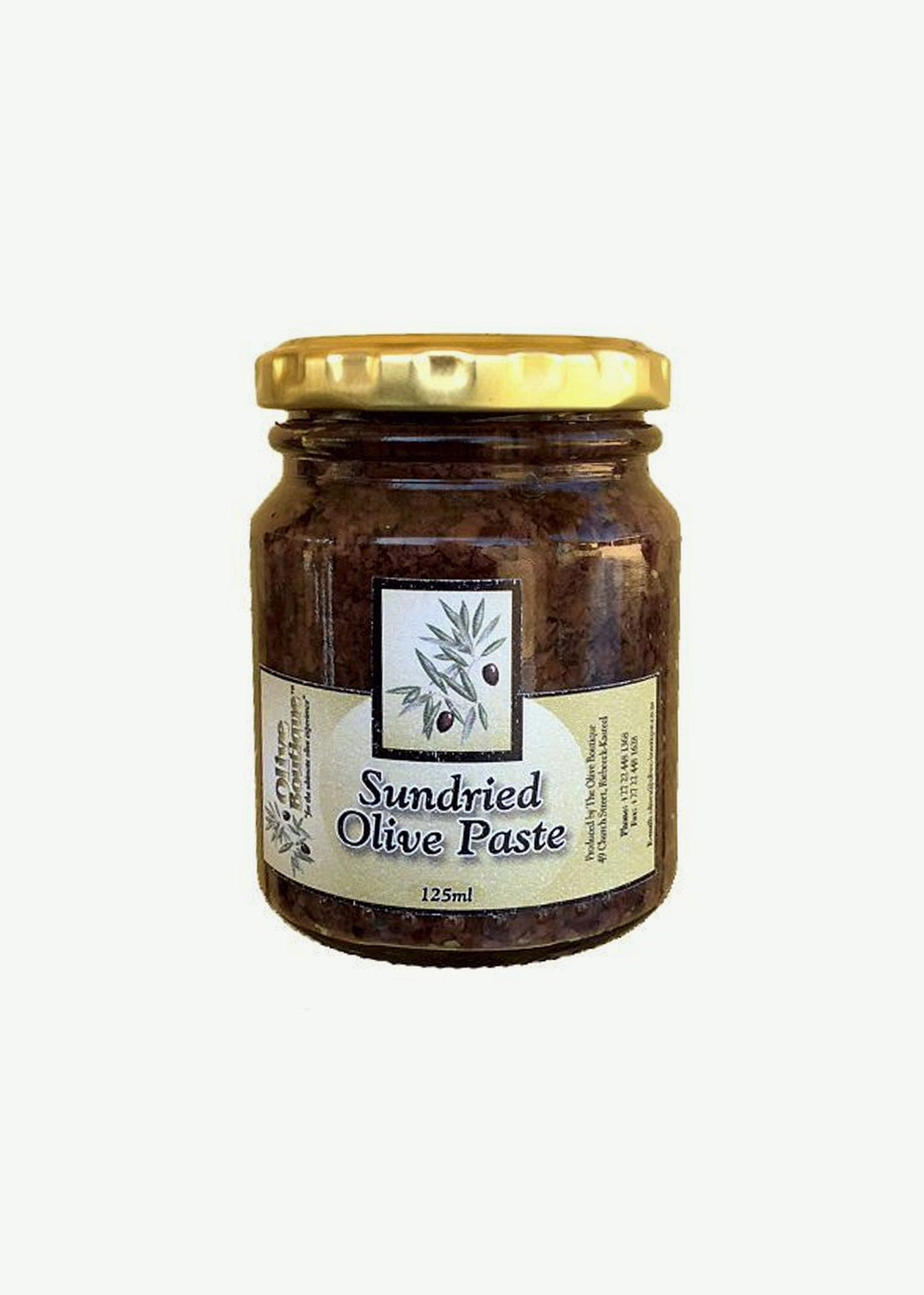 Sun Dried Olive Paste       125ml