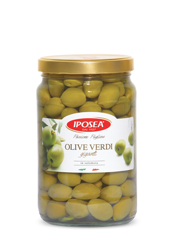Iposea Giant Green Olives 1700g