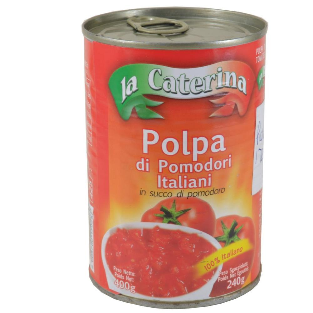 CHOPPED TOMATOS IN SAUCE  400g LA CATERINA