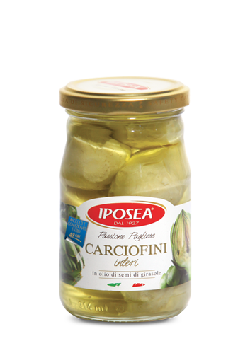 Iposea Grilled Artichokes in Sunflower Oil 280g