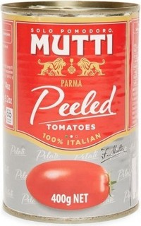 Mutti Whole Peeled Tomatoes   400g