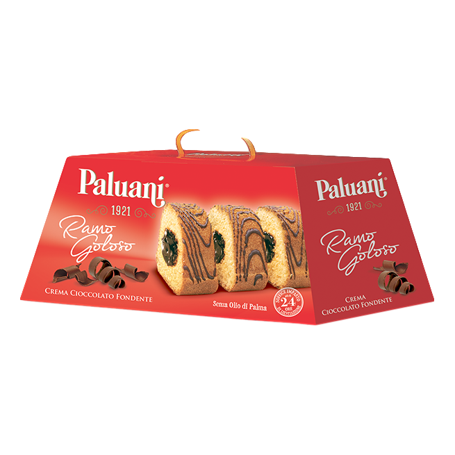 Paluani Chocolate and Cream Cake 400g