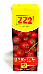 ZZ2 100% Romanita Tomato Juice 750ml