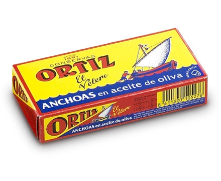 Conservas Ortiz Anchovies in Olive Oil 47.5g