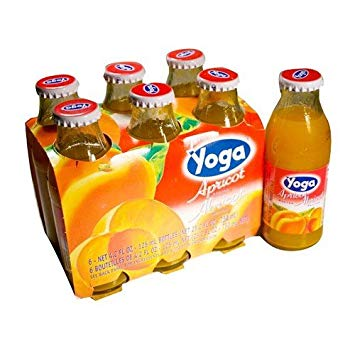 Yoga Apricot  Nectar   125ml