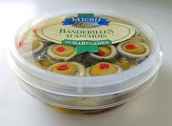 Miceli Banderilles (Anchovies and Olives)200g