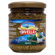 Divella Pesto alla Genovese (Basil and Pine Nut) 190g