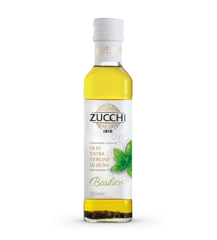 Zucchi Extra Virgin Olive Oil with Basil Flavour 250ml