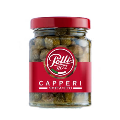 Polli Capperi (capers in Wine Vinegar) 100g