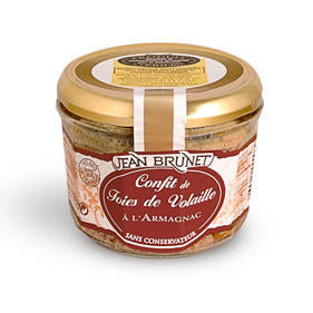 Jean Brunet Chicken Liver Confit with Armagnac 320g