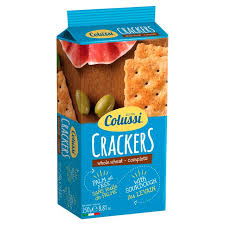 Colussi Whole Wheat Crackers 250g