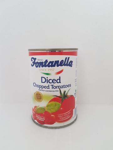 Fontanella Diced Chopped Tomatoes 400g