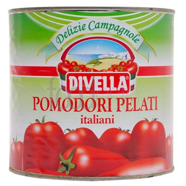Divella Italian Whole Peeled Tomatoes     2.5kg