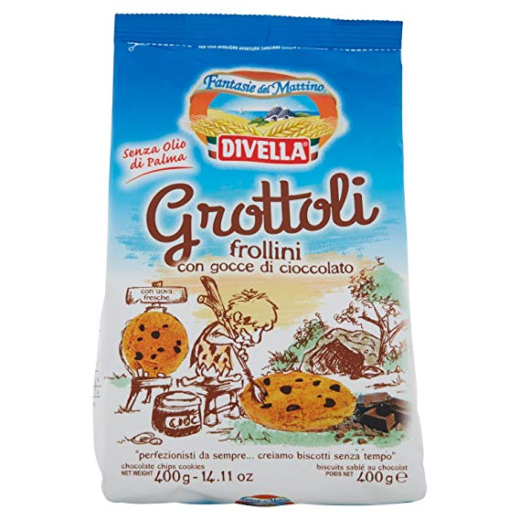 Divella Gnottoli (Chocolate Chip Cookies) 280g