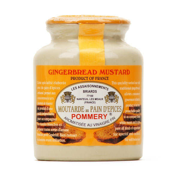 Moutarde au Pain Depices (Gingerbread Mustard) 250g