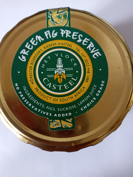 Het Vlock Casteel Green Fig Preserve 580ml