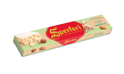 Sperlari Nougat with Hazelnut 250g