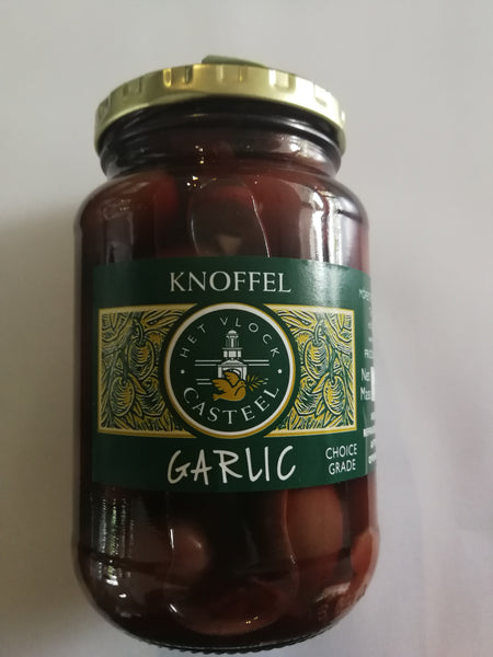 Het Vlock Casteel Garlic Olives 375ml