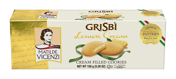 Matilde Vicenzi Grisbi Lemon Cream Biscuits 150g