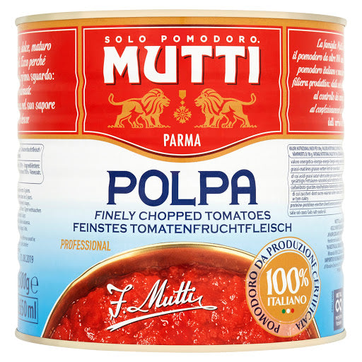 Mutti Finely Chopped Tomatoes 400g