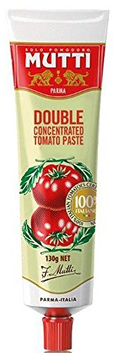 Mutti Double Concentrated Tomato Paste Tube 130g