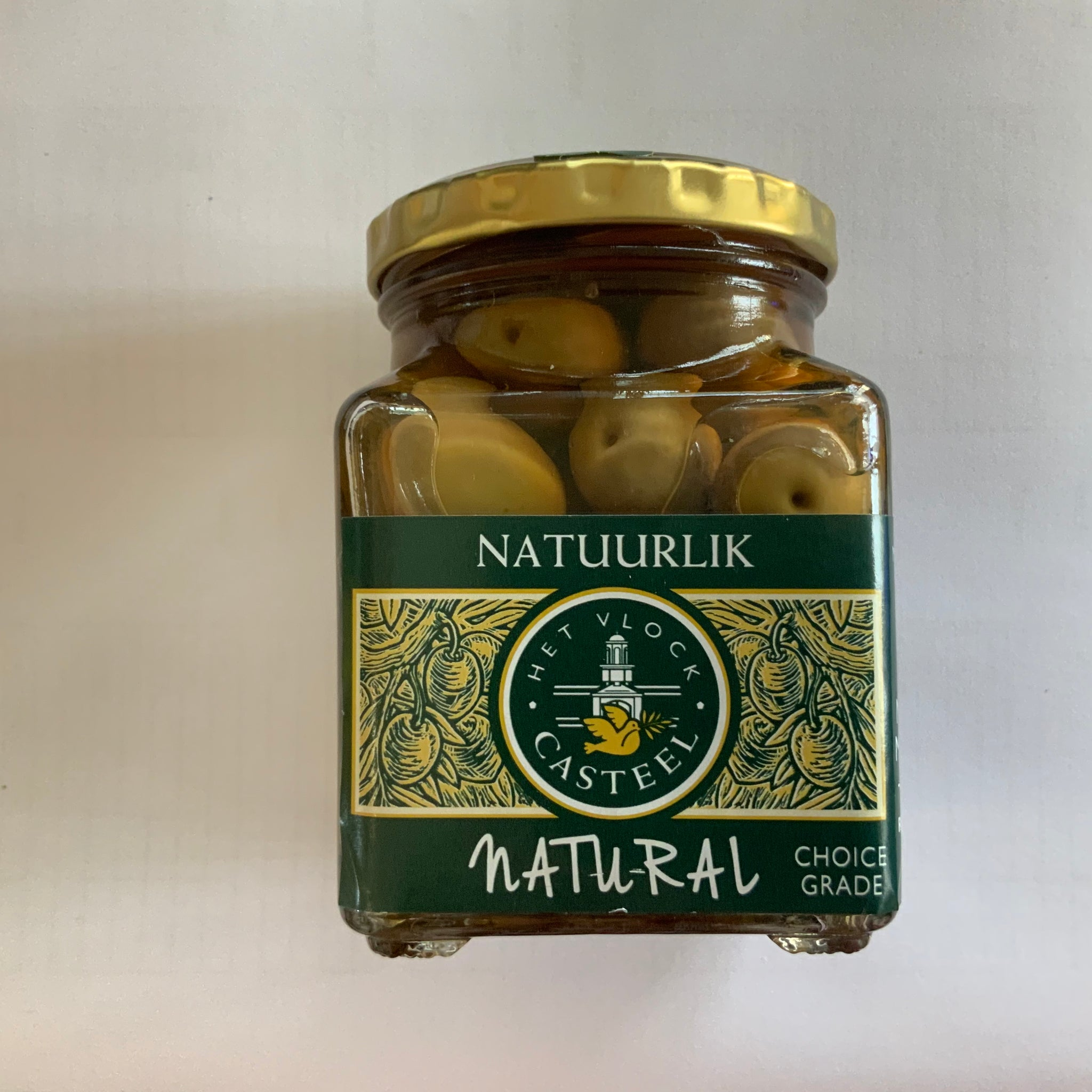 Het Vlock Natural Nocellara Olives 260ml