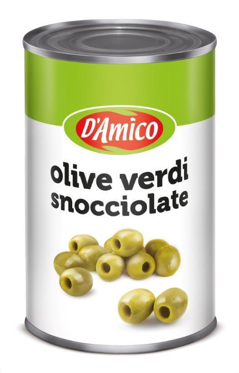 Damico Giant Green Olives 2500g