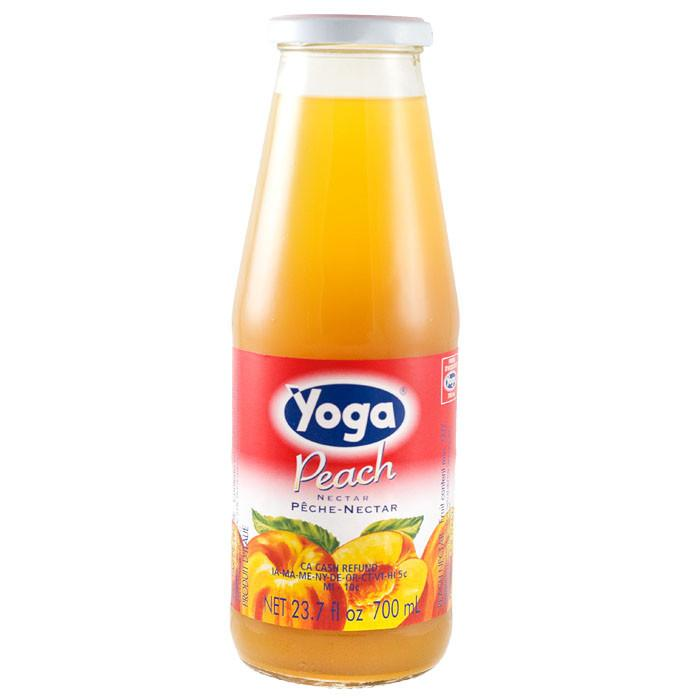 Yoga Peach Juice 50% Peach Nectar    680ml