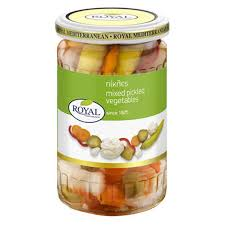 Royal Mixed Pickled Vegetables 360g